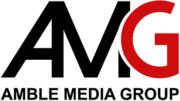 Amble media group logo